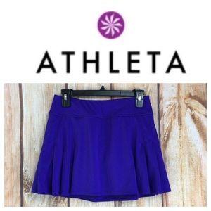 🐞ATHLETA purple skort size Small